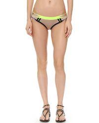 Hervé Léger - Lyyti Bikini Bottom - Neon Yellow Combo - Lyst