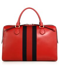 Gucci | Webby Large Leather Top-handle Bag | Lyst