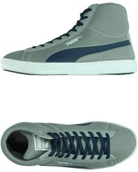 PUMA High-Tops & Trainers gray - Lyst