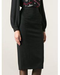 Olympia Le-Tan Dunninger Skirt - Lyst