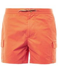 Marc Jacobs Pocketdetail Swim Shorts - Lyst