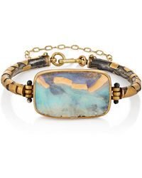 Judy Geib - Patchwork Opal Bracelet - Lyst