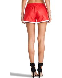 Love Leather - Lets Rally Short - Lyst
