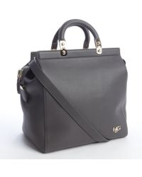 Givenchy Grey Eather 'Hdg' Convertible Tote Bag - Lyst