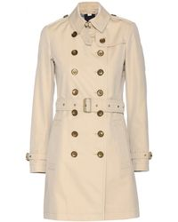 Burberry Brit - Crombrook Trench Coat - Lyst