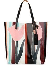 Marni Printed Shopper - For Women - Lyst