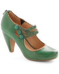 Miz Mooz - Dance The Day Away Heel in Emerald - Lyst