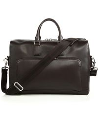 Gucci Front Pocket Leather Briefcase black - Lyst