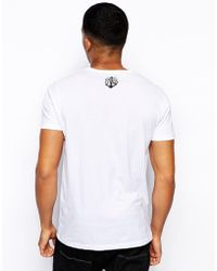 Friend or Faux T-shirt with Northern Monkey Print - White