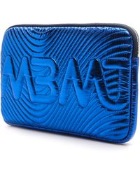 Marc By Marc Jacobs Quilted Mini Tablet Case - Scuba Blue - Lyst
