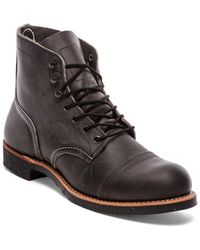 Red Wing Gray Iron Ranger - Lyst