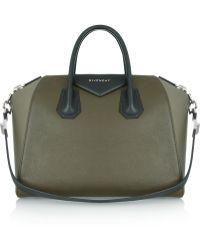 Givenchy Medium Antigona Bag in Colorblock Leather - Lyst