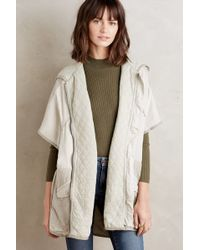 Hei Hei - Hooded Utility Cape - Lyst