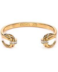 Rachel Zoe Safari Mini Crescent Cuff - Metallic