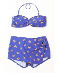 Esther Williams Swimwear With Beach Passing Day Two-Piece Swimsuit - Lyst