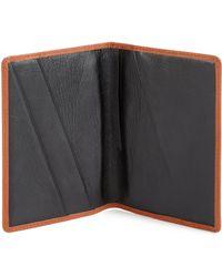 Want Les Essentiels De La Vie Pearson Passport Cover - Brown