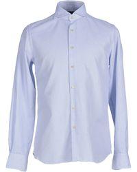Xacus | blue Shirt | Lyst