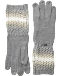 CALVIN KLEIN 205W39NYC - Ombre Waffle Knit Gloves - Lyst