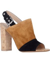 Gianvito Rossi Two-tone Halter-strap Sandals - Lyst