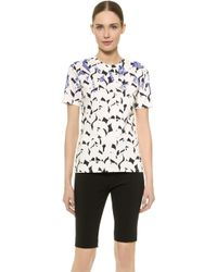Narciso Rodriguez Printed Cotton T-shirt - Multi - Lyst
