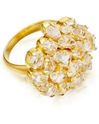 Pippa Small - Herkimer Diamond Invisible Set Ring - Lyst