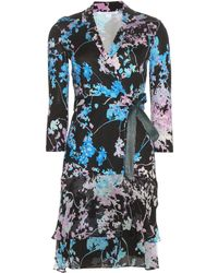 Diane von Furstenberg - Cathy Printed Silk Dress - Lyst