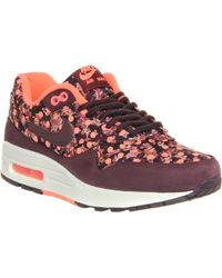 Nike Purple Liberty Air Max 1 Trainer - Lyst