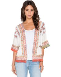 Velvet By Graham & Spencer Adali Embroidered Jacket - Lyst