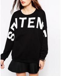 Gestuz - Slogan Sweatshirt - Lyst