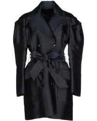 Viktor & Rolf Full-Length Jacket black - Lyst
