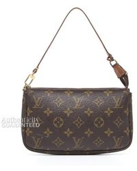 Louis Vuitton Pre-Owned Pochette Accessories Bag - Lyst