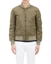 Rag & Bone Tech Quilted Bomber Jacket - Lyst