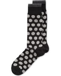 Calvin Klein Mens Cotton Big Dot Socks - Lyst
