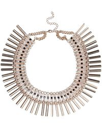 River Island Glam Collar Necklace - Lyst