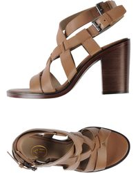 Ash Beige Sandals - Lyst