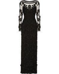 Temperley London Long Jayla Embellished Tulle Dress - Lyst