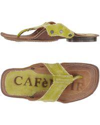 CafeNoir - Thong Sandal - Lyst