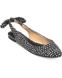 Lucky Brand Women'S Alixis Slingback Bow Flats - Lyst