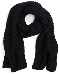 Evelyn K - Cable Knit Scarf - Lyst