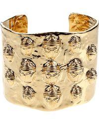 Aurelie Bidermann Bracelet gold - Lyst