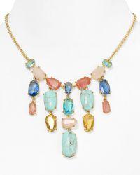 """Ralph Lauren Ralph Lauren Palm Beach Bib Necklace, 16"""" - Lyst"""