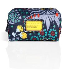 Marc By Marc Jacobs Floral Print Cosmetic Case - Lyst