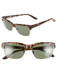 e6208932d1d1 Stussy - Stussy  coltrane  55mm Sunglasses - Camo Tortoise  Green Grey -  Lyst