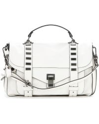 Proenza Schouler Ps1 Medium Studded Leather Tote - Lyst