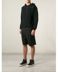 Marcelo Burlon Embroidered Detail Hoodie - Lyst