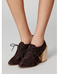 Free People Count Us in Bootie - Brown