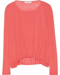 Elizabeth And James Kim Jersey Top - Lyst