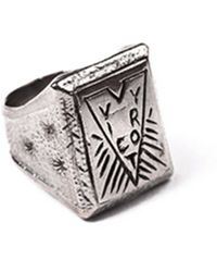 Lulu Frost G. Frost Victory Ring silver - Lyst