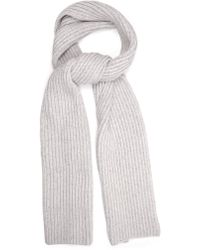 Baja East - Chunky Fisherman-knit Cashmere Scarf - Lyst