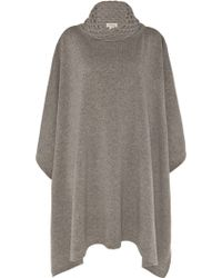 Temperley London Honeycomb Cape gray - Lyst